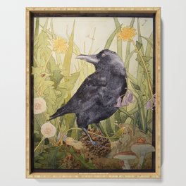 Canuck the Crow Serving Tray