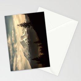 Mount Shasta Waking Up Stationery Cards