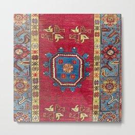 Ladik  Antique Turkish Village Niche Carpet Print Metal Print
