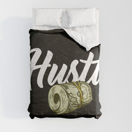 hustle & grind entrepreneur Comforters