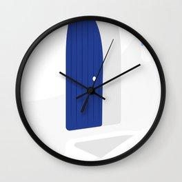 Santorini #01 Wall Clock