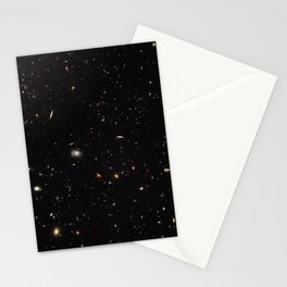 Hubble Space Telescope - A galactic gathering Stationery Cards