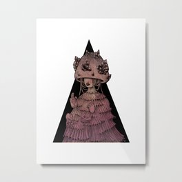 PINK KINOKO Metal Print