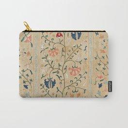 Uzbekistan Suzani Nim Embroidery Print Carry-All Pouch
