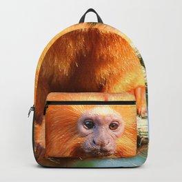 Golden Lion Tamarin Delight Backpack