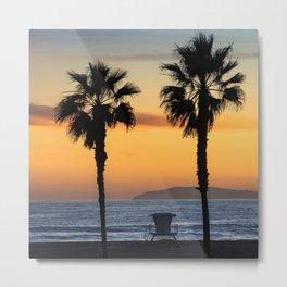 Catalina Sunset Palms  11-9-20 Metal Print