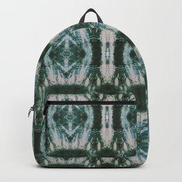 Green Shibori Hedges Backpack