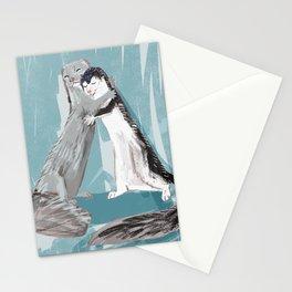 Minky hugs Stationery Cards