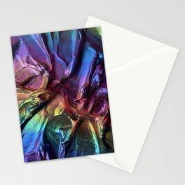Crinkle Oilslick Stationery Cards
