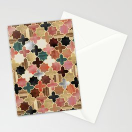 Twilight Moroccan Stationery Cards