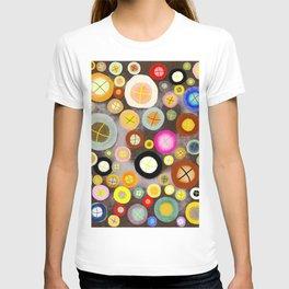 The incident - Circles pale vintage cross T-shirt