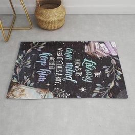 Strange the Dreamer - Library - Laini Taylor Rug