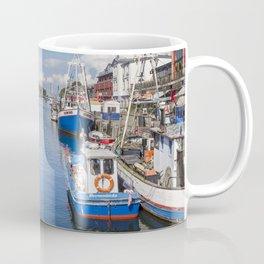 Baltic Coast Fishing Harbor Coffee Mug
