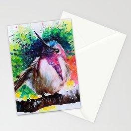 Costa's Hummingbird Acrylic Painting Stationery Cards