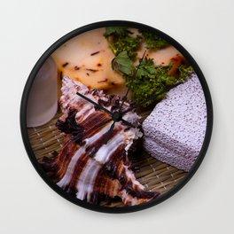 Bath accessories. Wall Clock