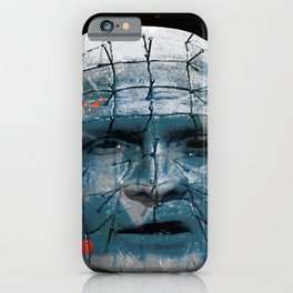"""Pinhead Hellraiser """"Do I Look Like Someone Who Cares What God Thinks?"""" iPhone Case"""