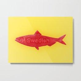 Swedish Fish Metal Print