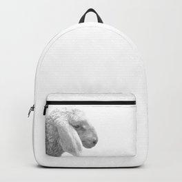 Black and White Sheep Backpack
