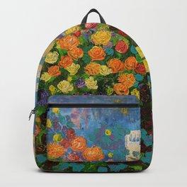 Flower Hedge Backpack