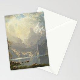 Albert Bierstadt - Lake Tahoe Stationery Cards