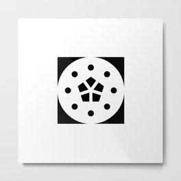 BLOSSOM ENTRAPMENT Metal Print