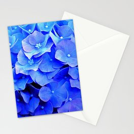 Hydrangea Blues Stationery Cards