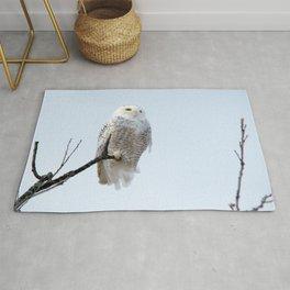 Lofty Vision (Snowy Owl) Rug