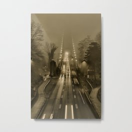 Lions Gate in the Fog 02 Metal Print