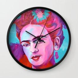 Frida Khalo Wall Clock