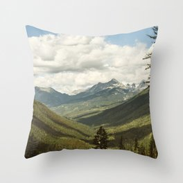 The Great Green Unknown Throw Pillow