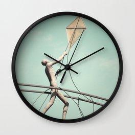 Kite Flyer Wall Clock
