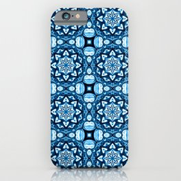 """Winter Pattern """"Ice Crystals"""" iPhone Case"""