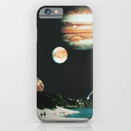 Couple on the beach iPhone Case