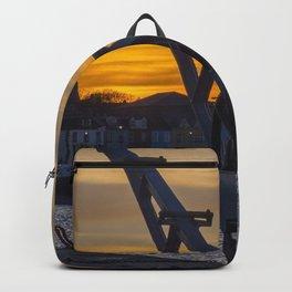 Donaghadee Crane - Sunset Backpack