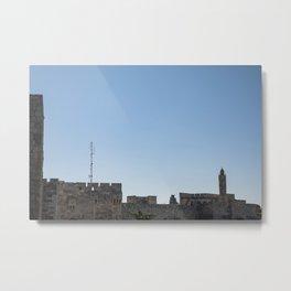 Tower of David Metal Print