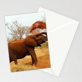 Slinging Mud Stationery Cards