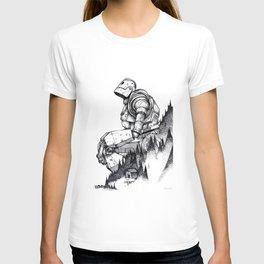 Iron Giant poster T-shirt
