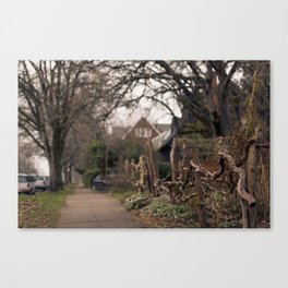 Nach Hause, Zu Hause Canvas Print