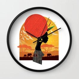 The Cradle of Civilization Wall Clock