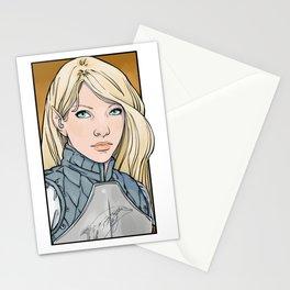 Calaeriel, Half-Elven Paladin Stationery Cards