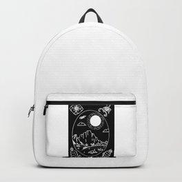Desert Scene Illustration Invert Backpack