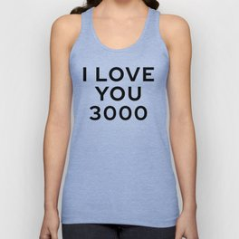 I Love You 3000 Unisex Tank Top