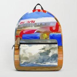 Pop Art Airliner Backpack