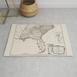 Former British Colonies In the Southern States of the USA Rug