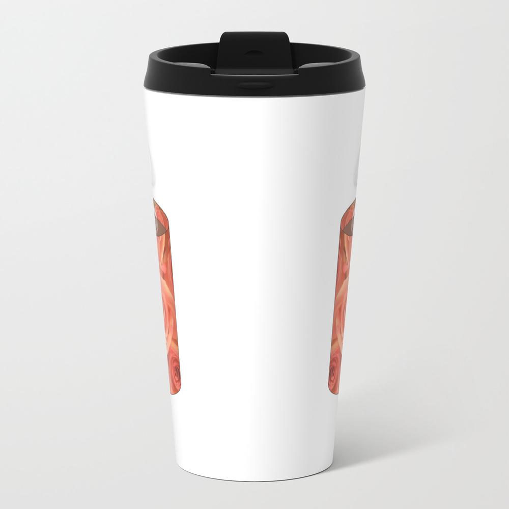 Roses Heart Handle Mug - Coffee Cup Series Travel Mug TRM8062379