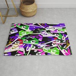 Jordan 1 Pattern Mix Rug