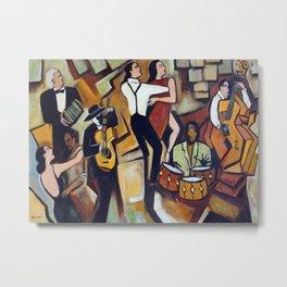 Suenos de Tango Metal Print