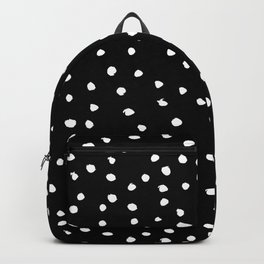 Polka Spots – Black & White Backpack