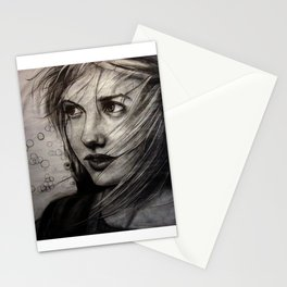 Undersketch of New Painting (VIDEO IN COMMENTS!!) Stationery Cards