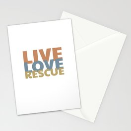 Live Love Rescue - Animal Rescue Stationery Cards